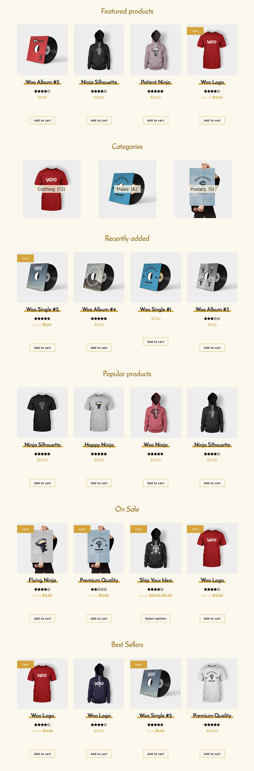 Spiffy WooCommerce Grid