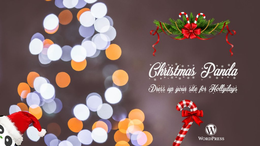 How to decorate your WordPress website with Christmas Panda Free WordPress Plugin