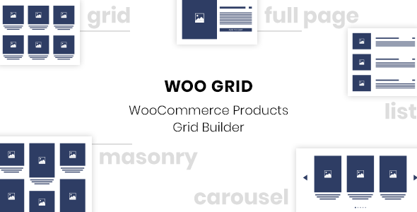 WooCommerce Products Grid Builder